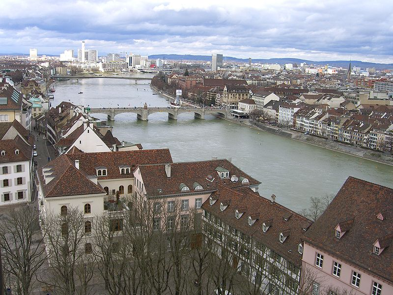 basel, Switzerland. River view