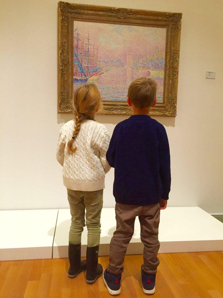 lac edu, bambini al museo
