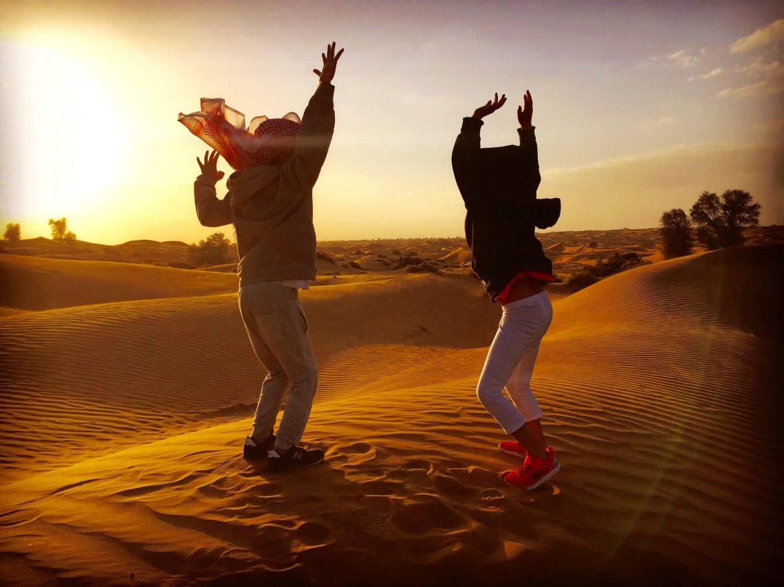 tour nel deserto con bambini