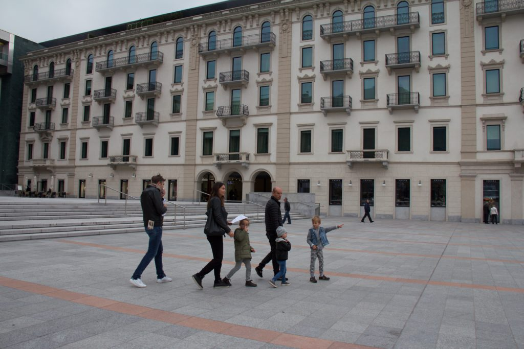 caccia al tesoro Lugano foxtrail, davanti al LAC