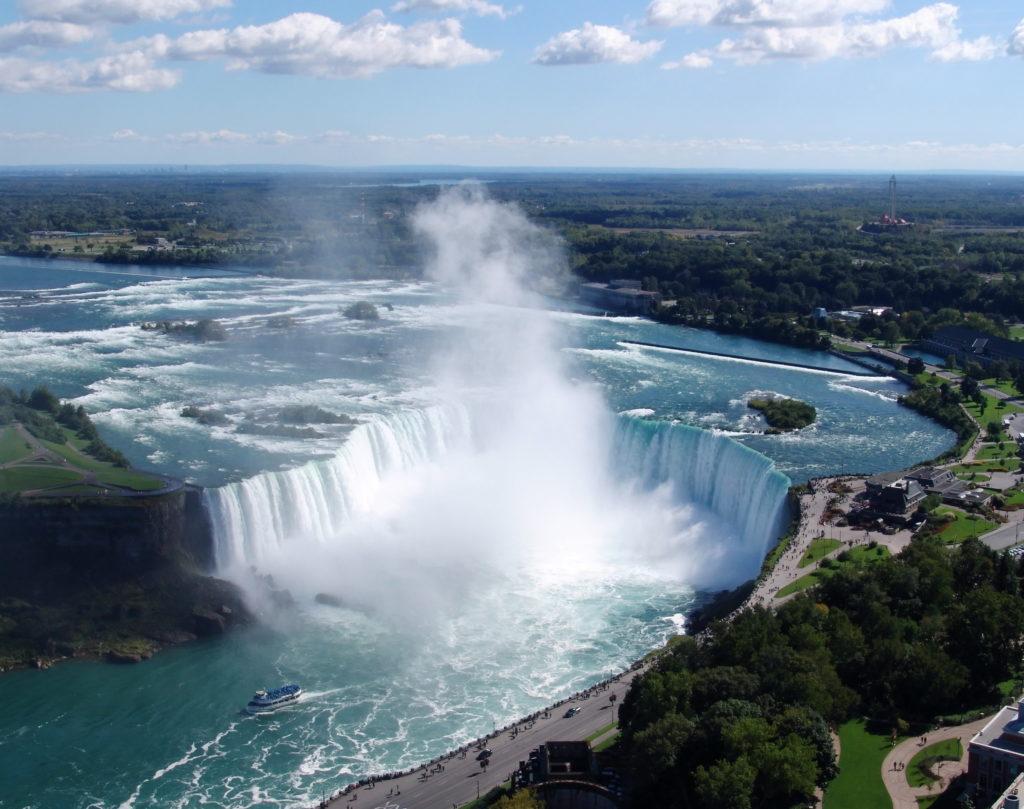 canada, toronto cascate del Niagara