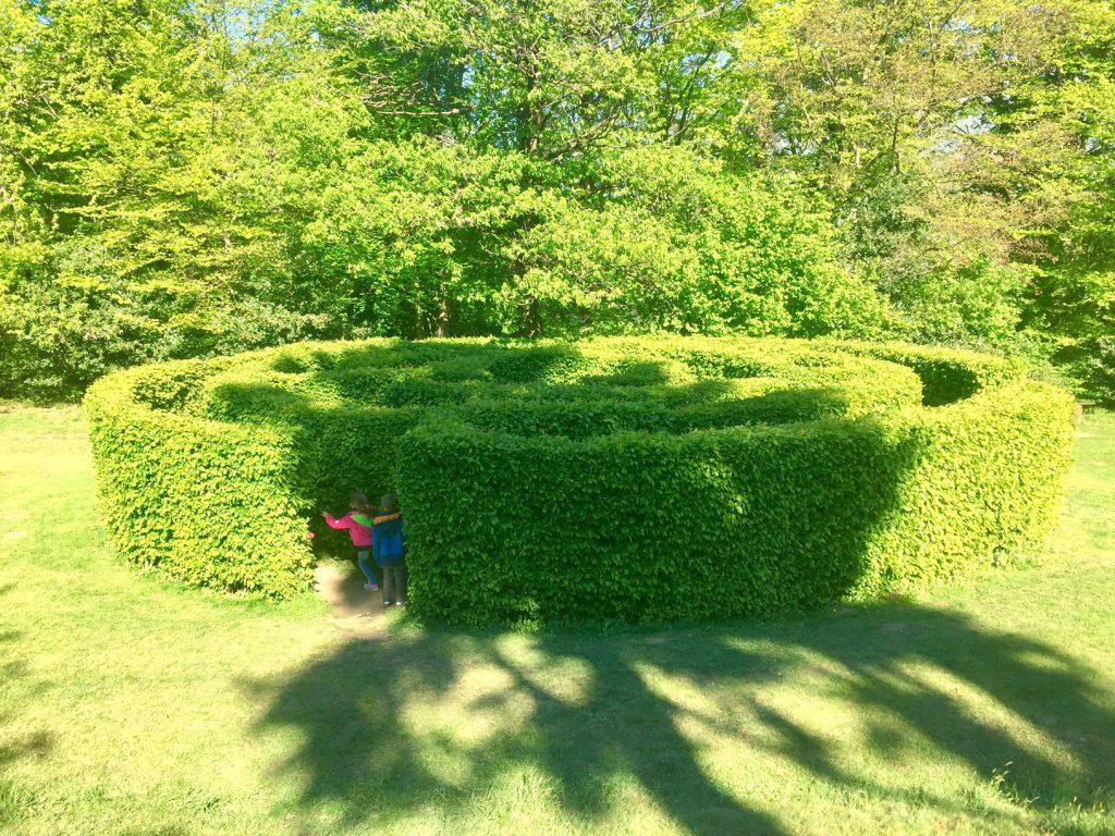 labirinto al Parco San Grato