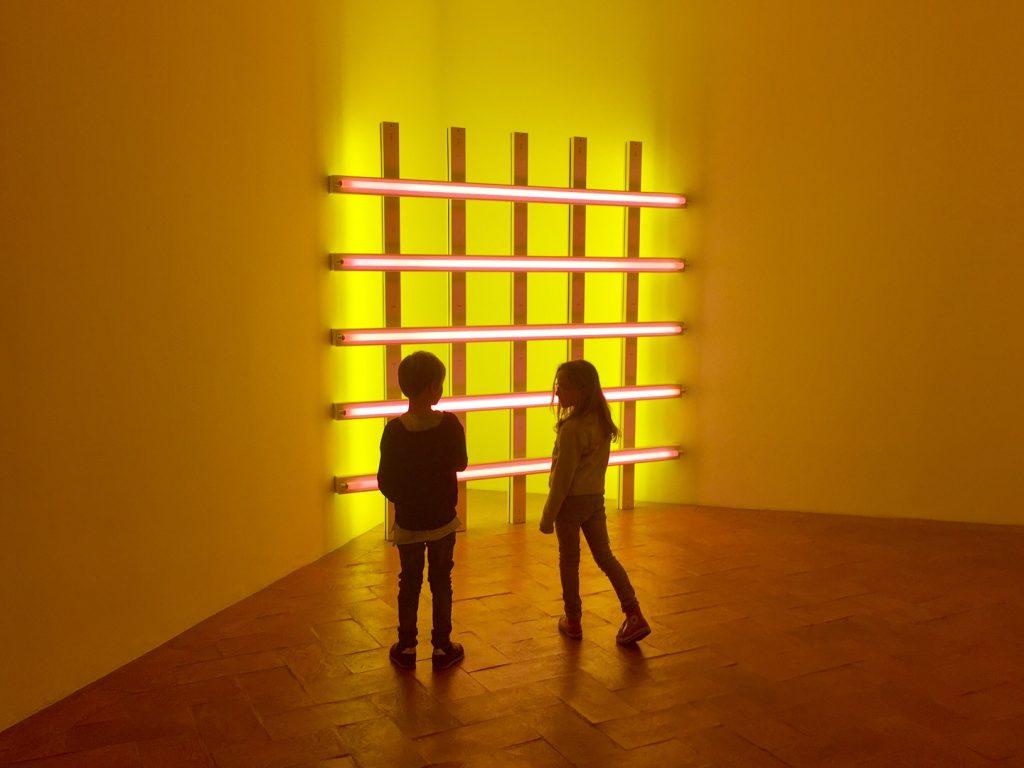 Villa installazioni neon