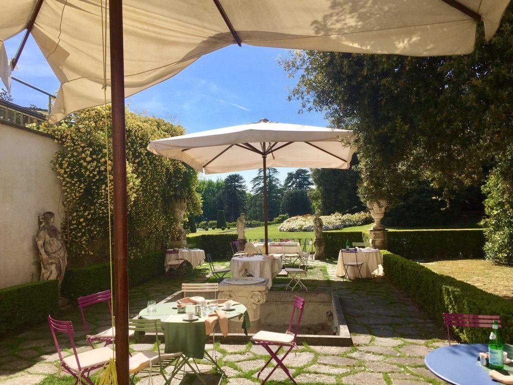 Villa Panza terrazza