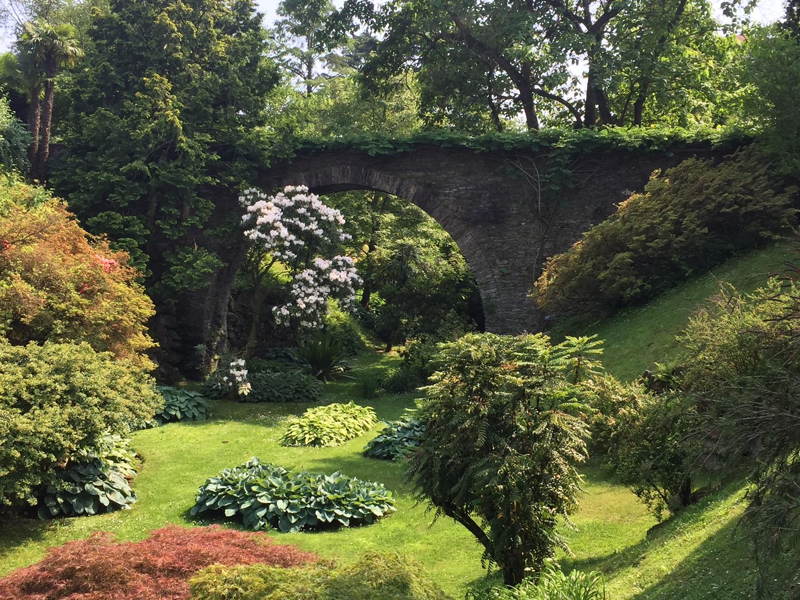 villa Taranto verbania, giardini botanici