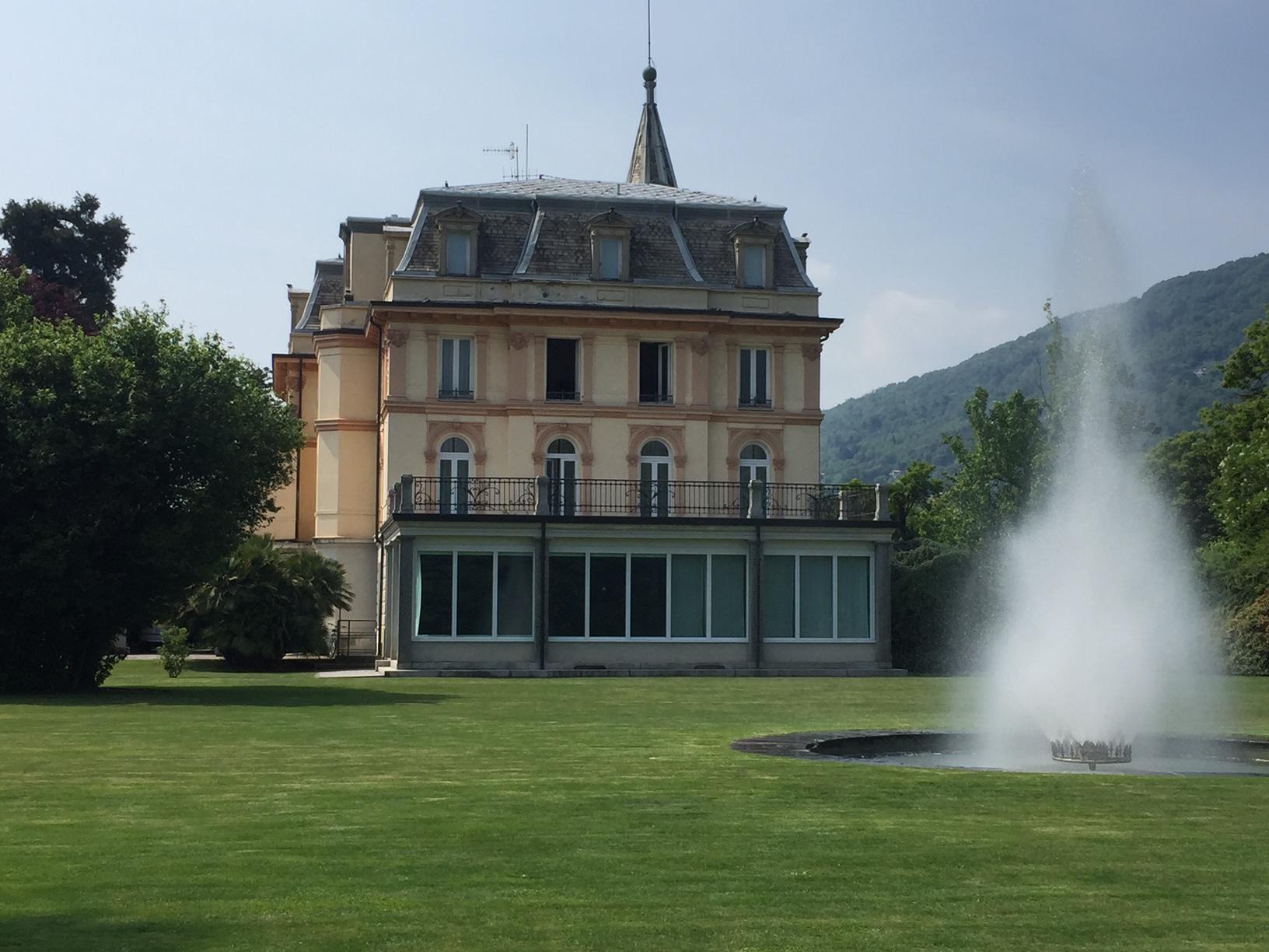 villa Taranto verbania, parco e villa