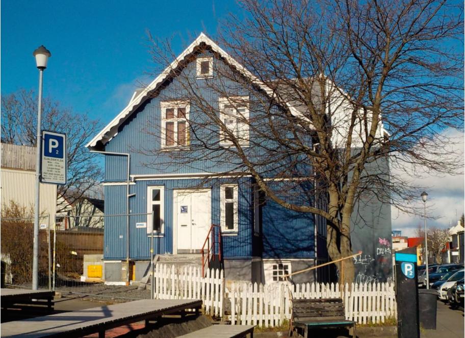 Islanda. casa tipica
