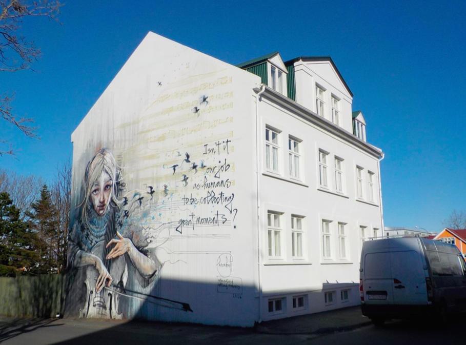 Reykjavík  graffiti