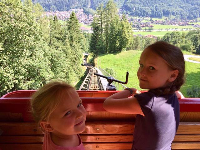 Gole della Aare e cascate di  Reichenbach sulla cremagliera