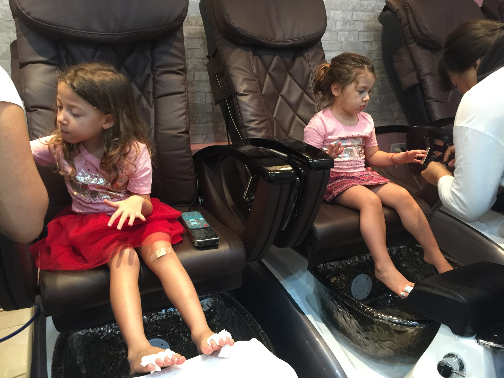 New York pedicure bimbe