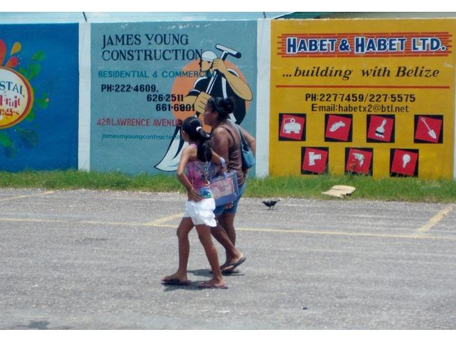 caraibi crociera: belize city