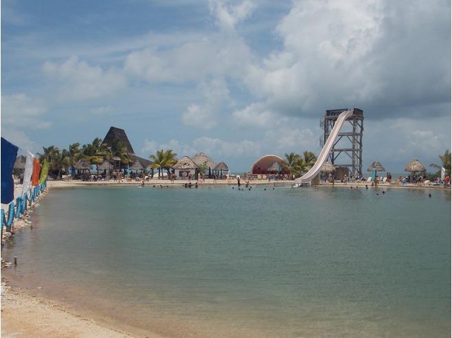 caraibi crociera: belize city cucumber beach
