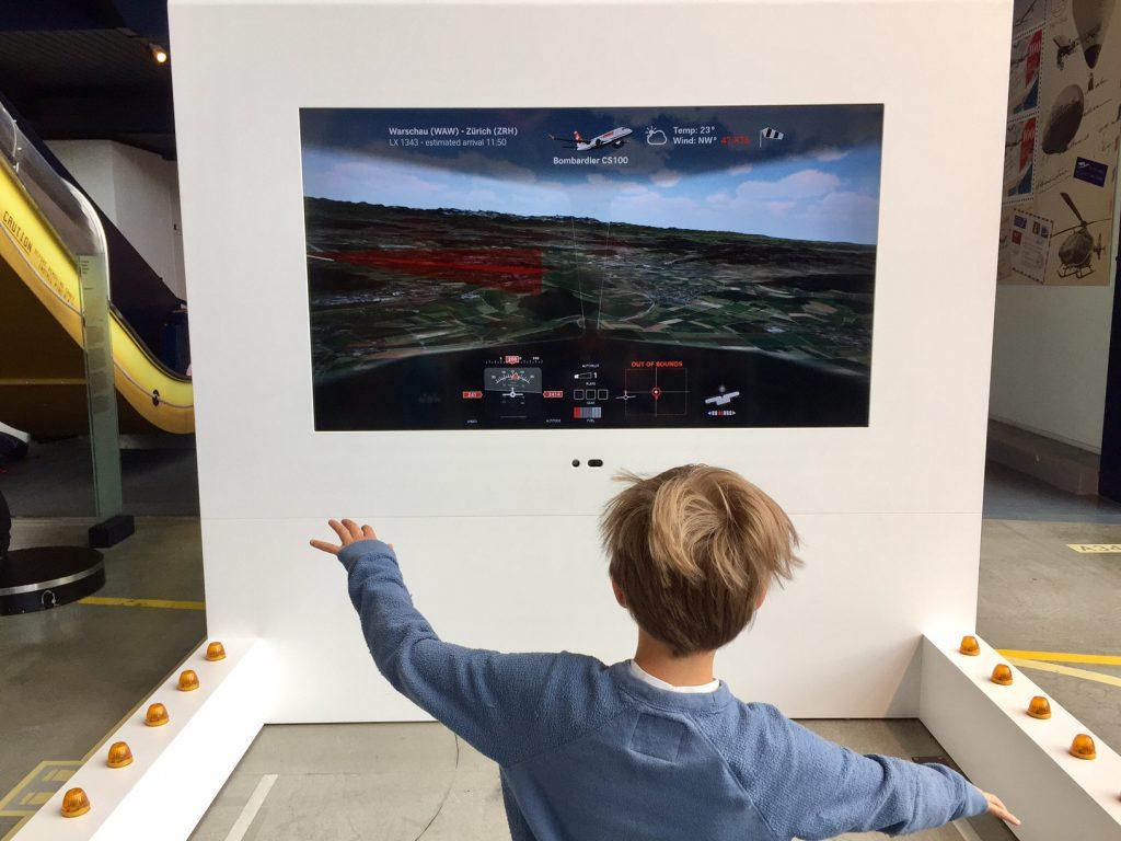 museo dei trasporti e planetario, lucerna. simulatore
