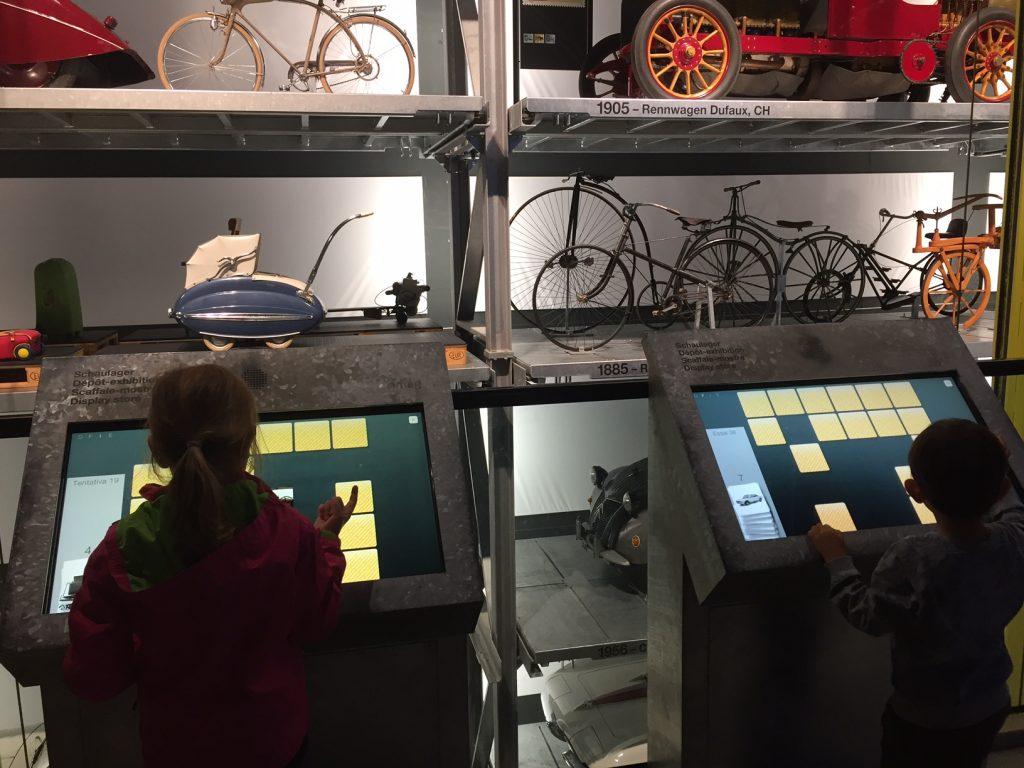 museo dei trasporti e planetario, lucerna. giochi interattivi