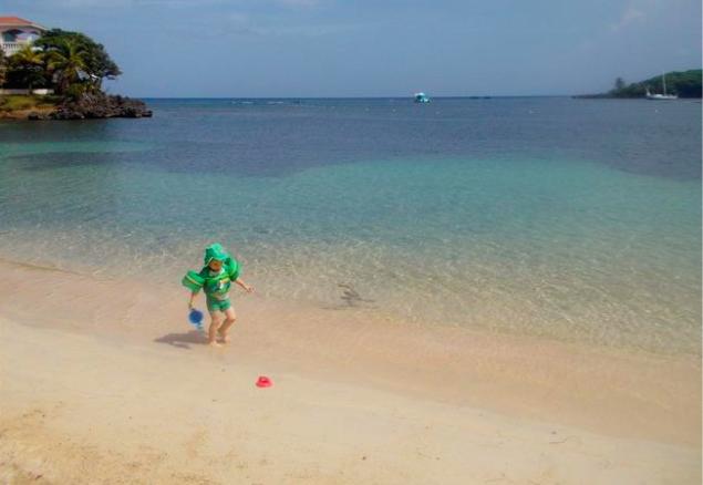 caraibi crociera: roatan mare