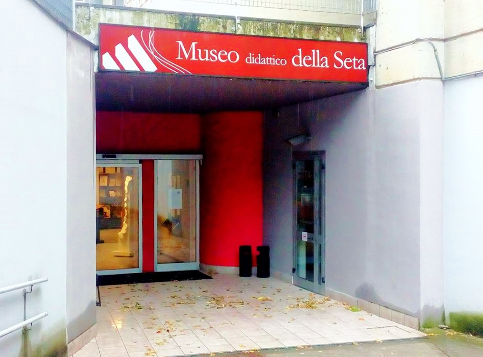 museo didattico della seta como, entrata