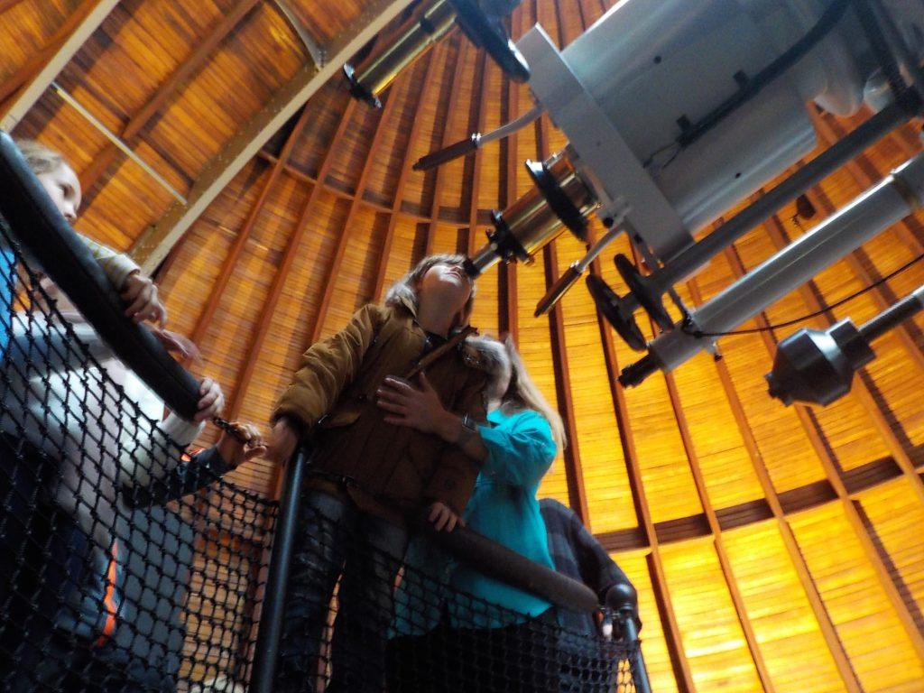 all'nterno dell'osservatrio astronomico urania Zurigo