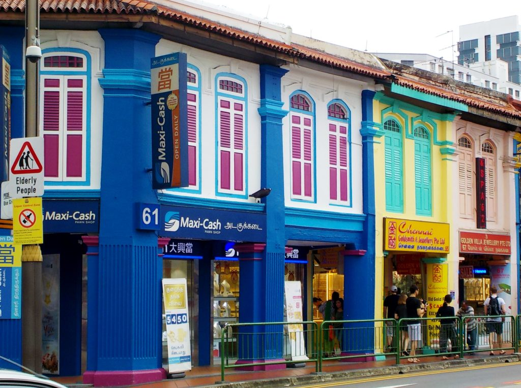 Sultan Mosque, little india