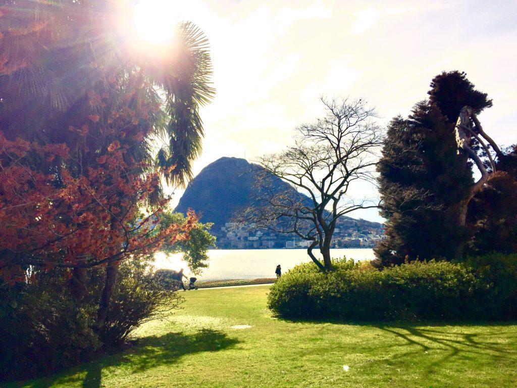 villa Ciani Lugano, parco ciani