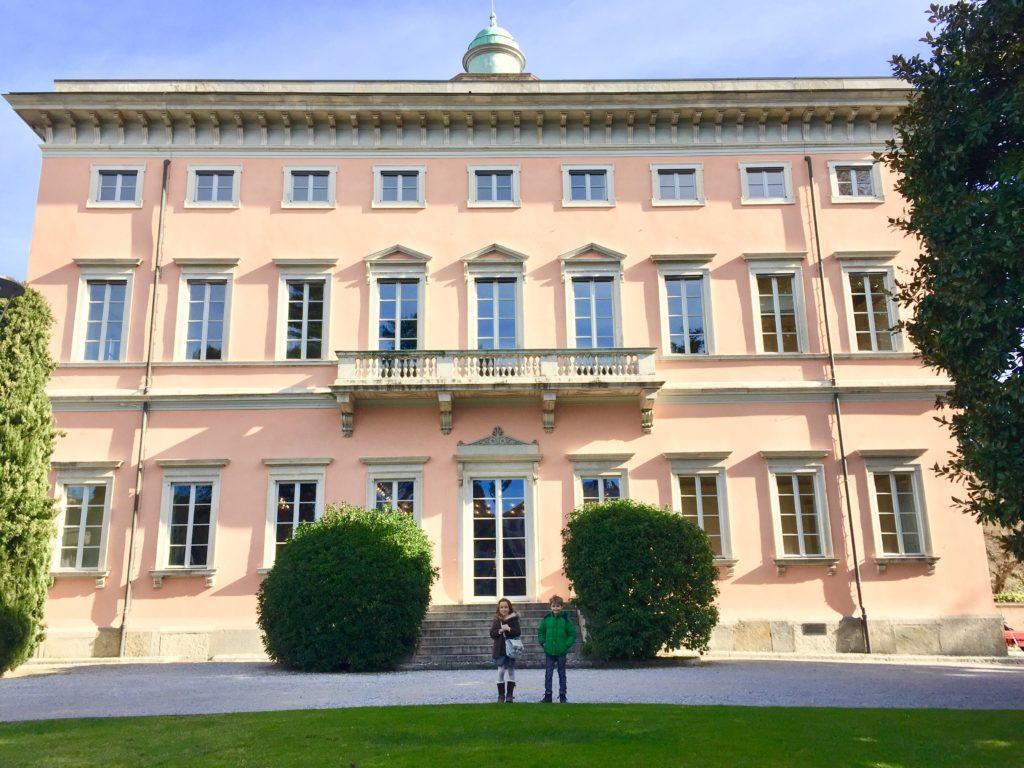 villa Ciani Lugano, esterno