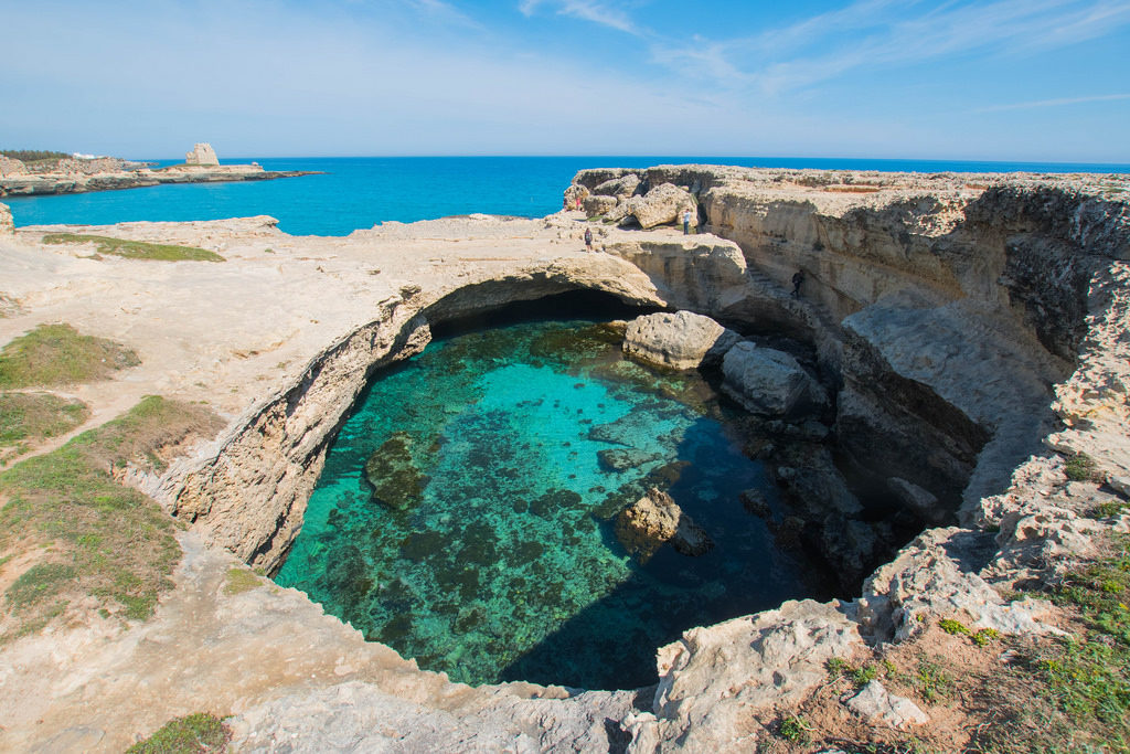 Salento blue waters