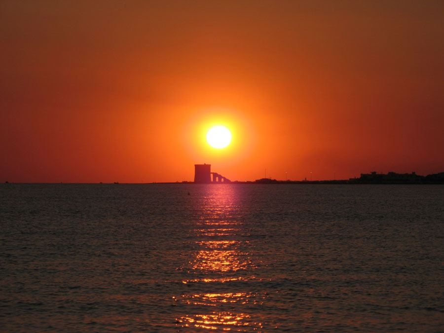 Salento sunset