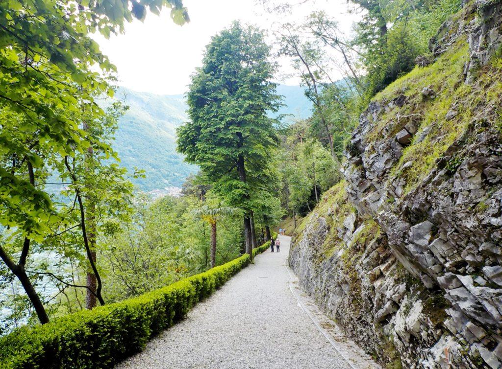 accesso villa Balbianello