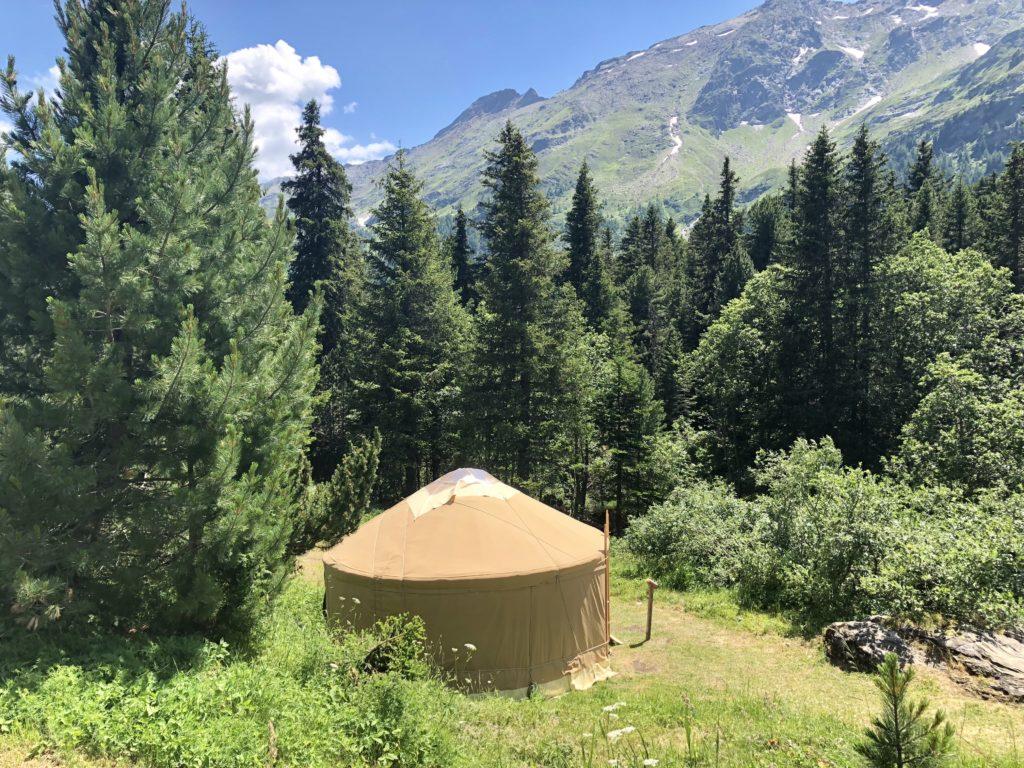 yurta al centro pro natura lucomagno