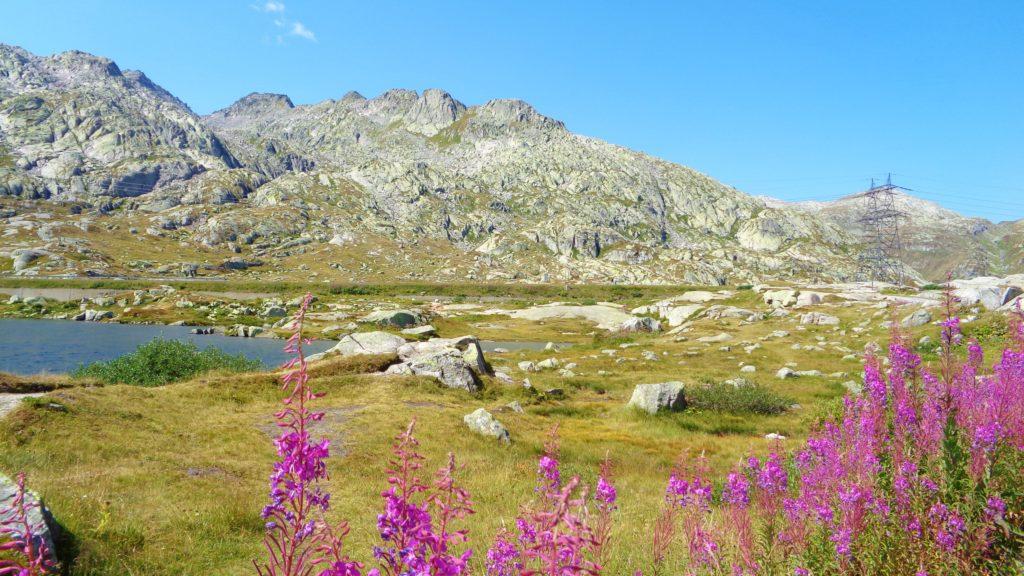 panorama alpino san gottardo
