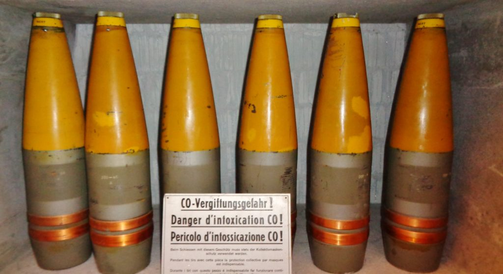 munizioni fortezza del san gottardo