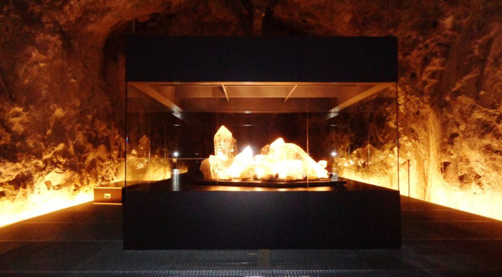 cristalli giganti nella sala dei cristalli