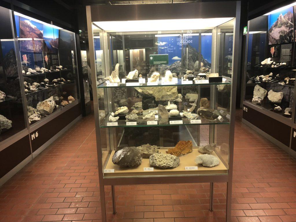 Area della mineralogia