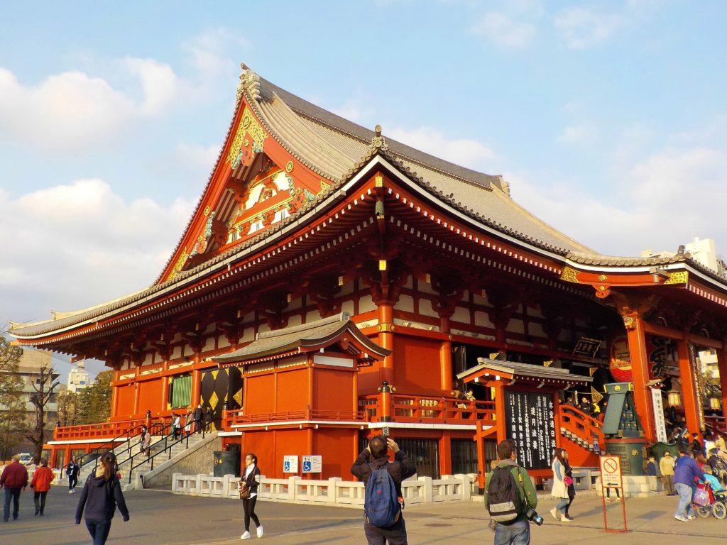 asakusa quartiere tokyo