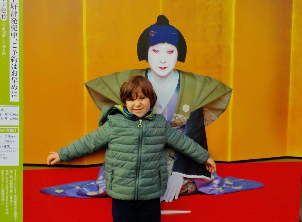 tokyo con bambini, kabuki
