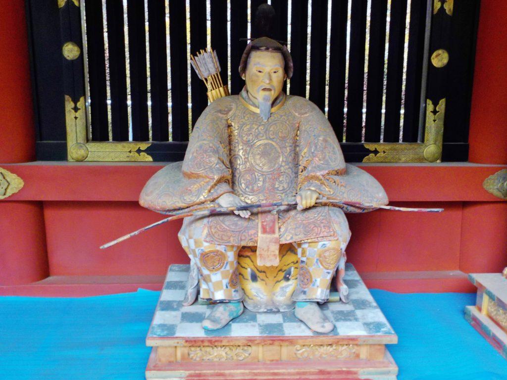 nikko con bambini, tempio