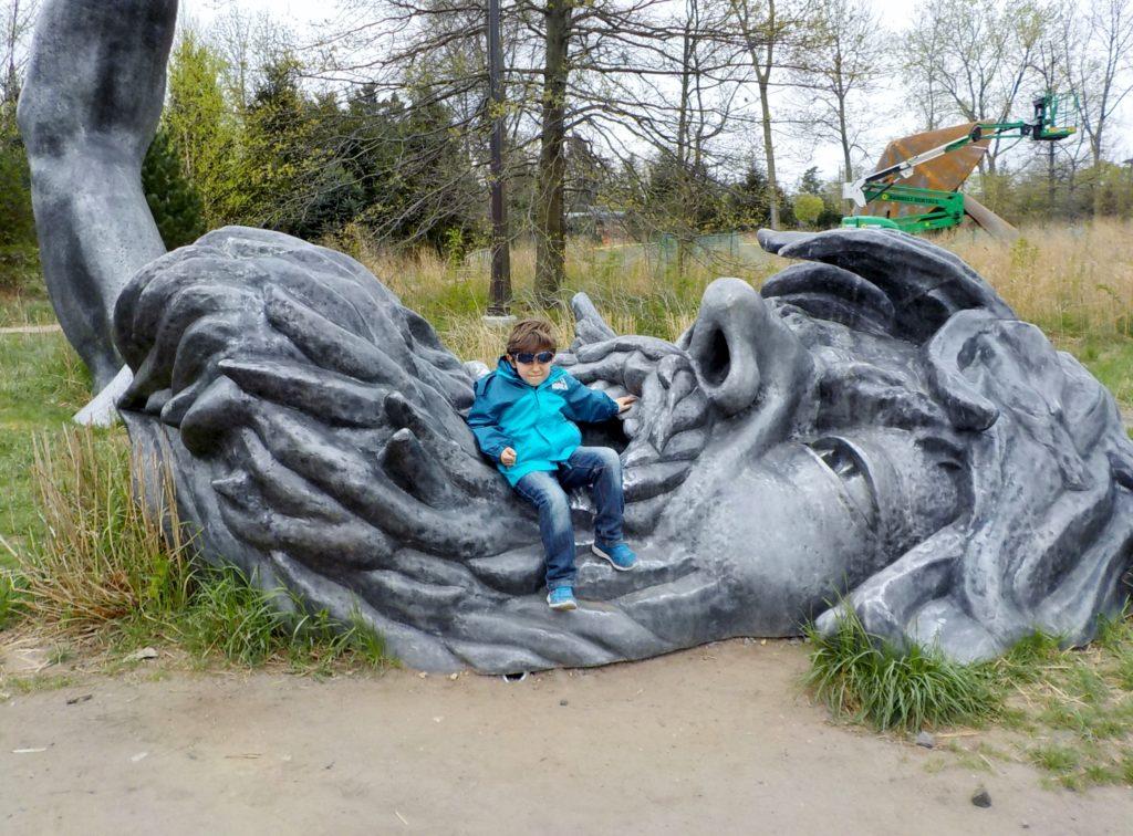 grounds for sculpture hamilton new jersey. john seward johnson, parco,  awakening