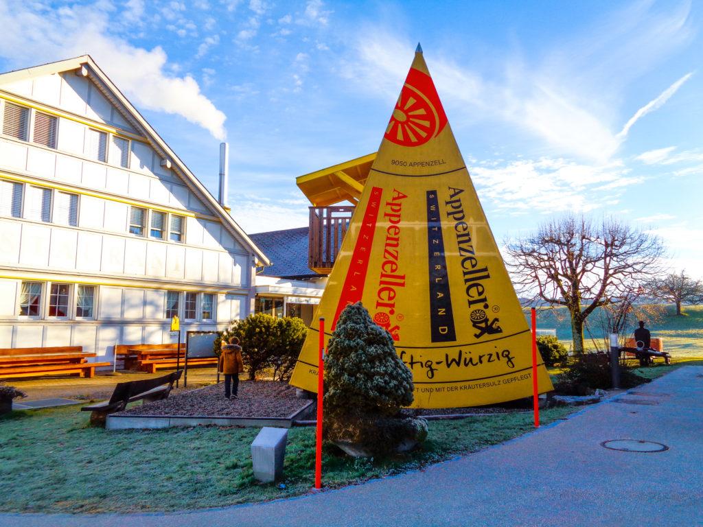 demonstration dairy stein, appenzell (switzerland).