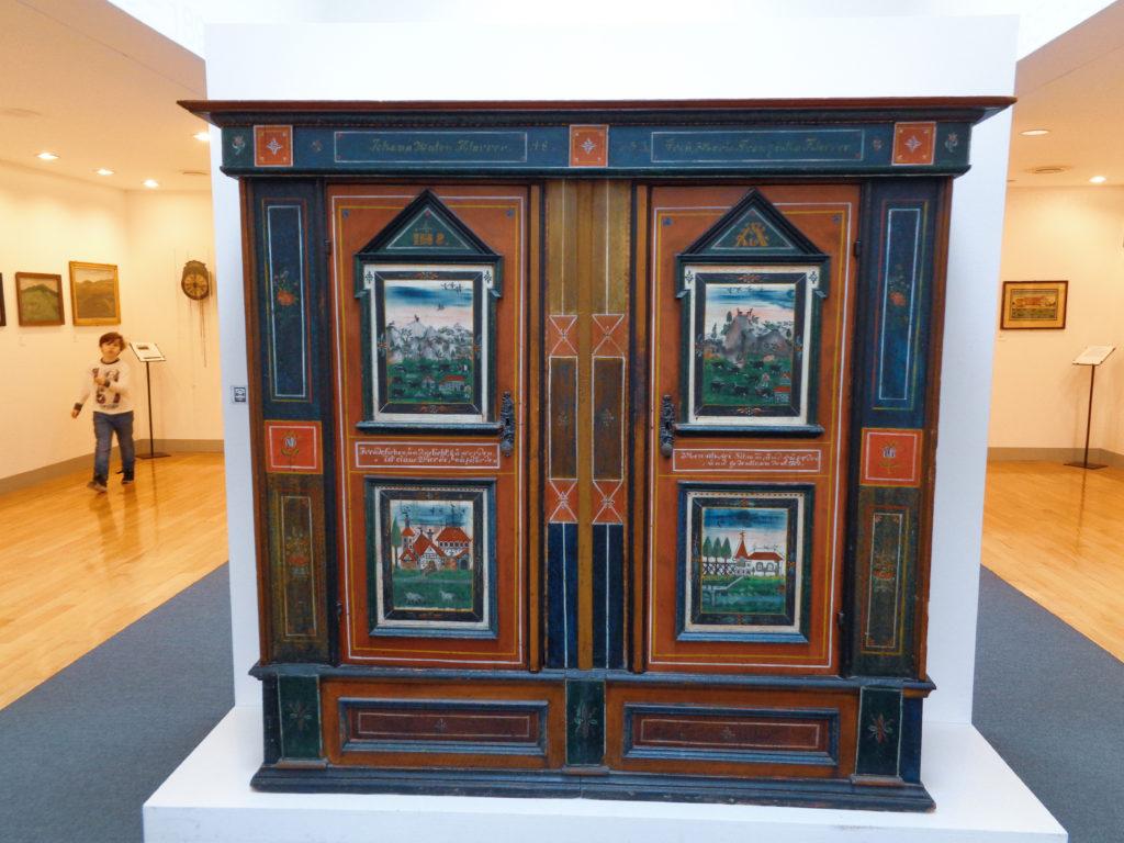 museo del folklore museum - stein, appenzell (switzerland). furniture