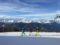 Sulle piste di sci a Pila, in Val d'Aosta