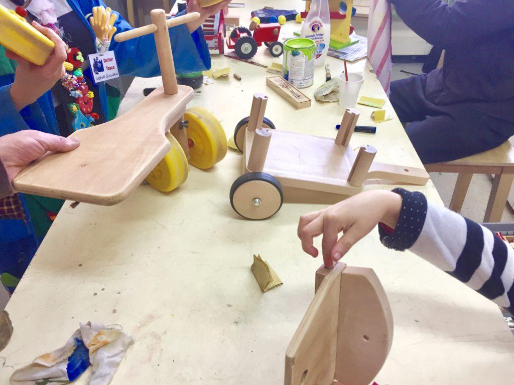 ospedale del giocattolo Lugano - atelier