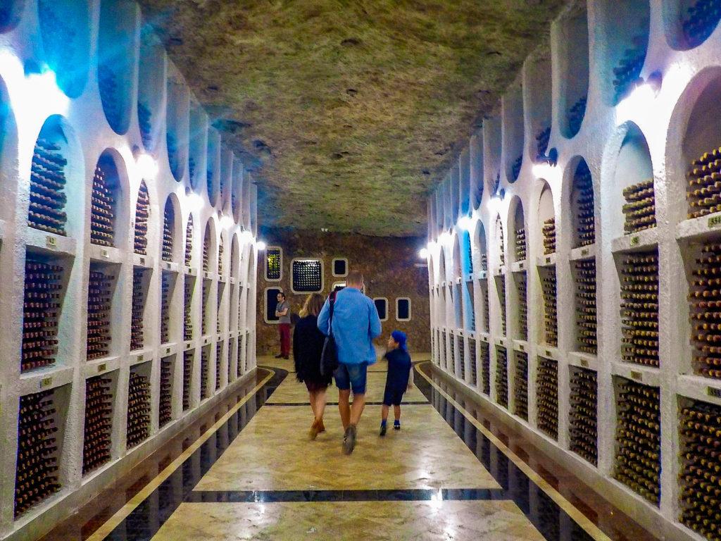 cricova tunnel del vino