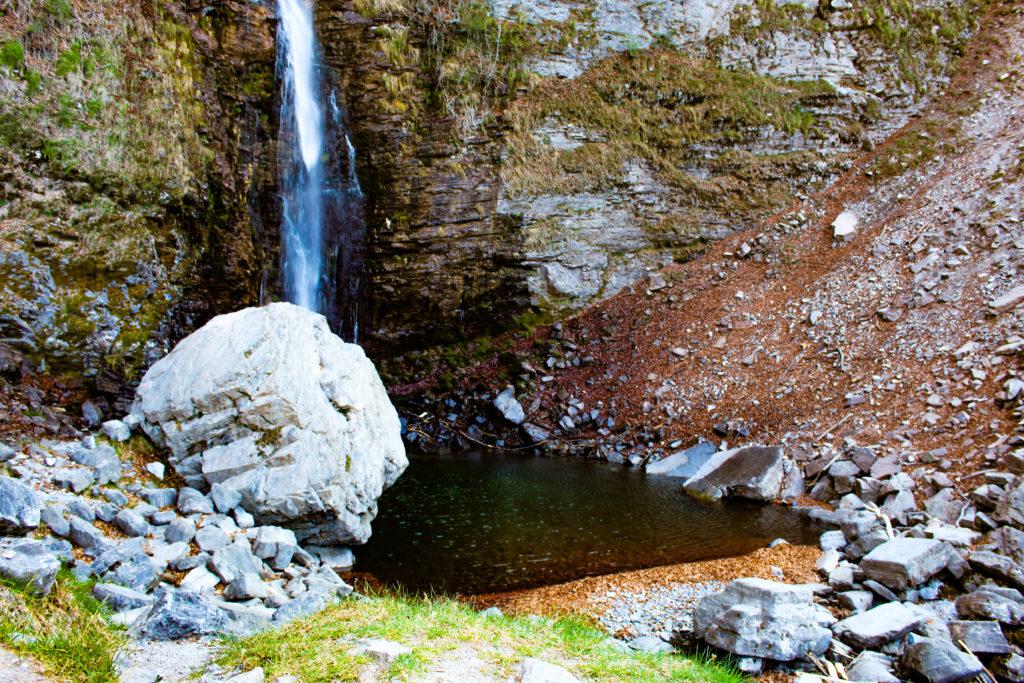 pozza cascata de Botto