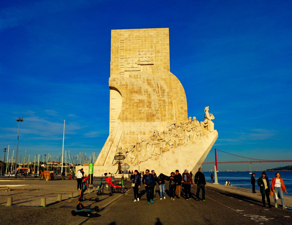 The Monument to the discoveries (Belem)