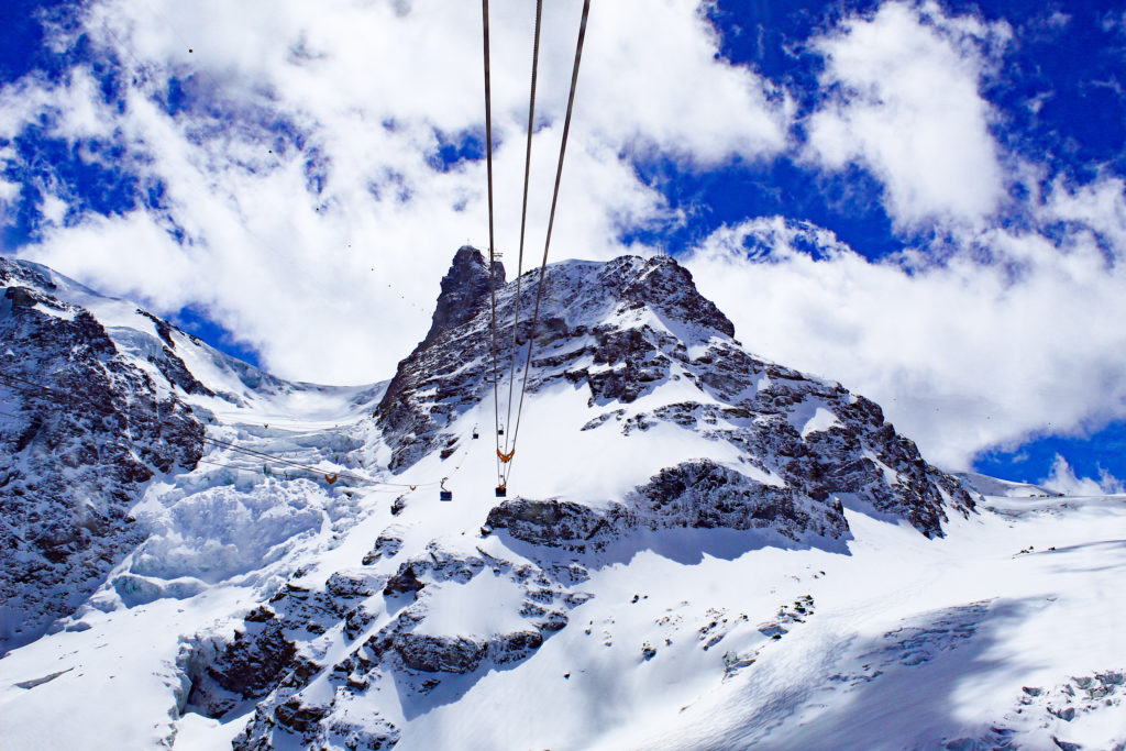 funivia Matterhorn Glacier Paradise