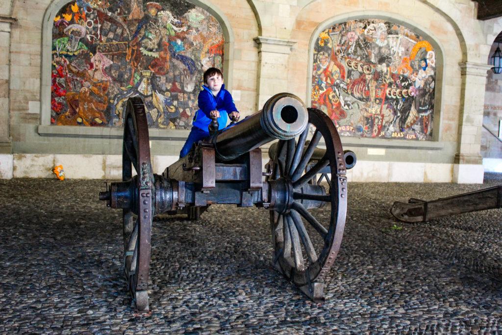 antico arsenale: cannoni