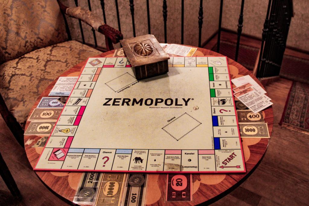gioco zermopoly a zermatlantis
