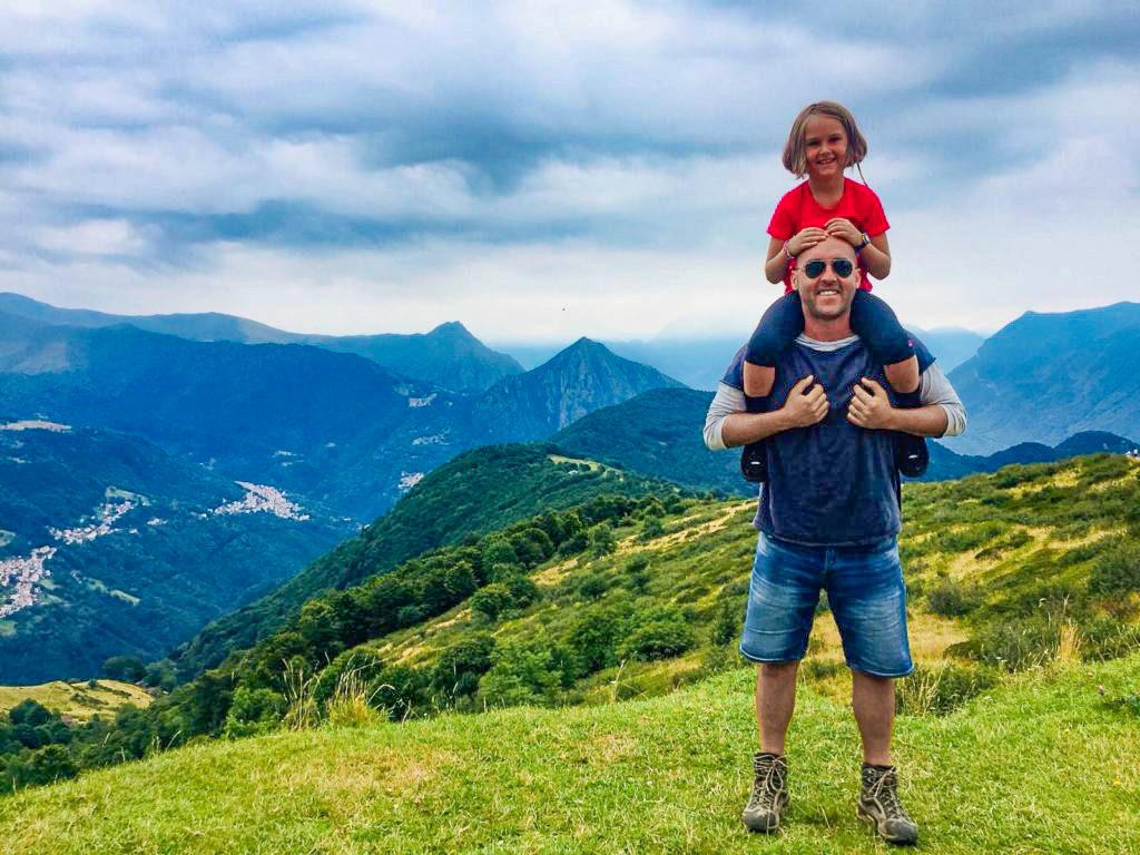 passeggiate estive con in Ticino, San Lucio