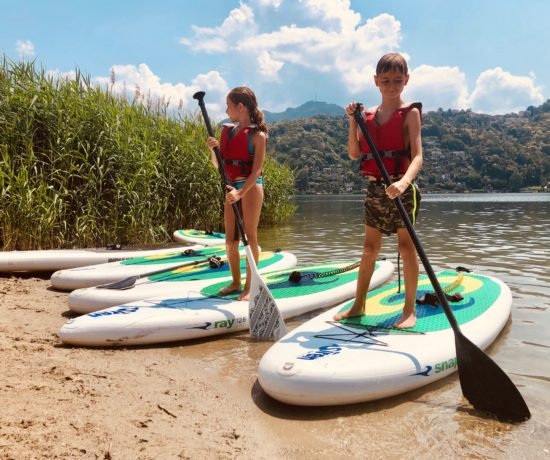stand up paddle lugano