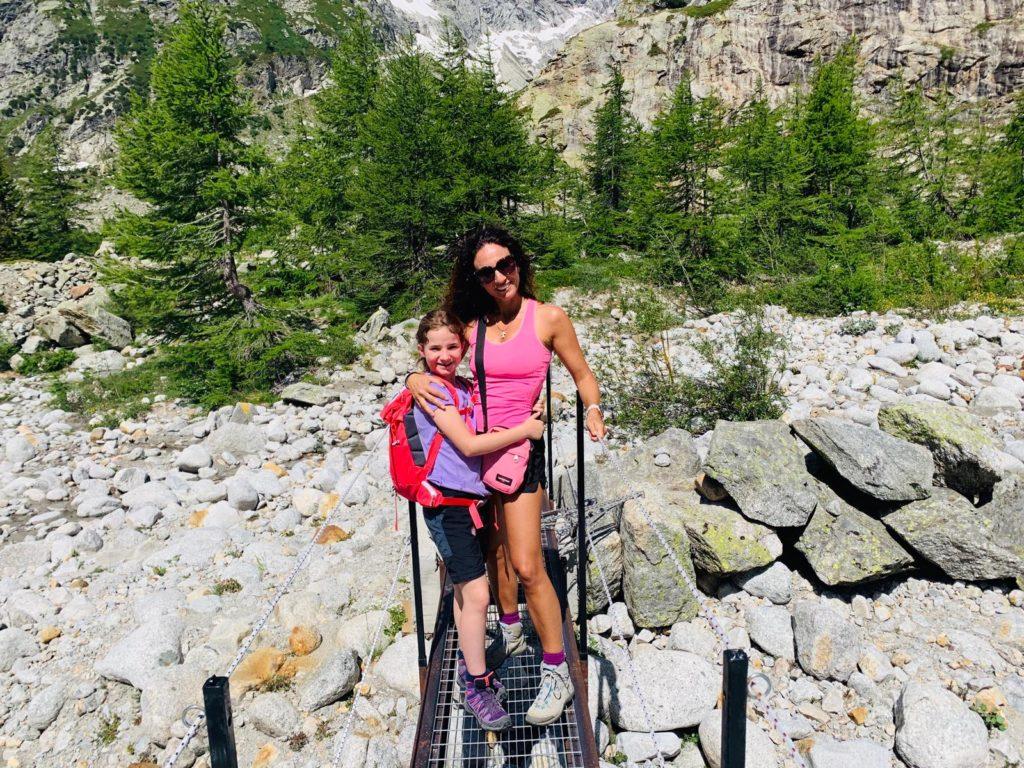 in montagna in valle d'Aosta