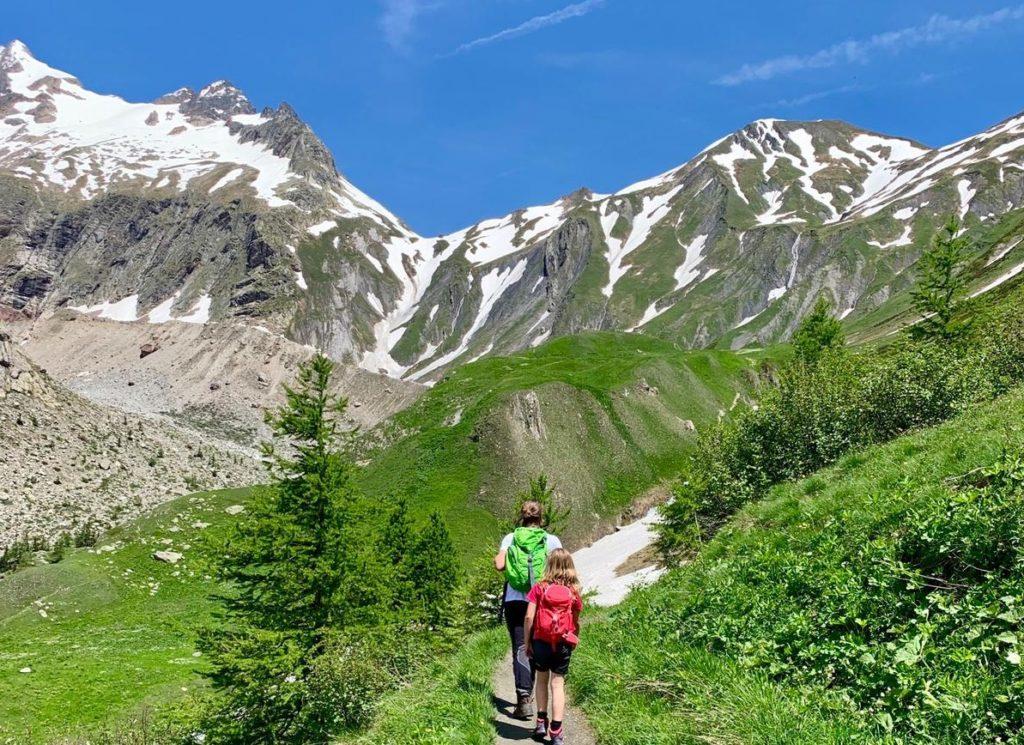 passeggiata in Valle d'Aosta